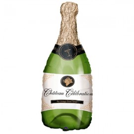 Shape Champagne Bottle