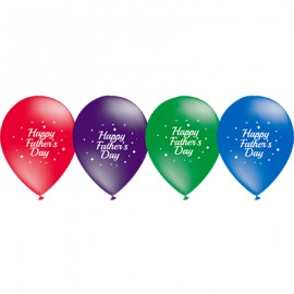 28cm Happy Father's Day Sparkle Metallic Assorted