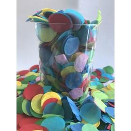 Confetti Assorted Tissue Circles 2cm Round