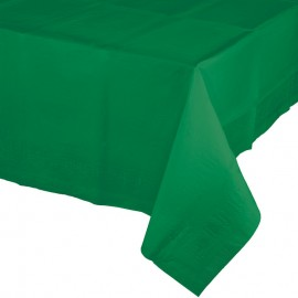 Emerald Green Tablecover Plastic