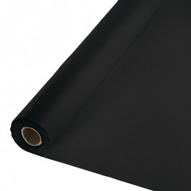 Black Velvet Tablecover Roll PVC 30m