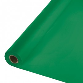 Emerald Green Tablecover Roll PVC 30m