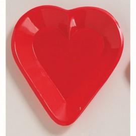 Card Night Tray, Mini Snack Heart