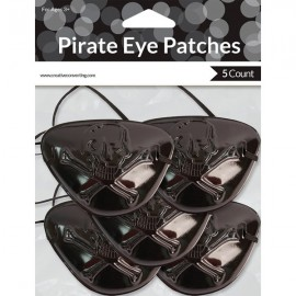 Buried Treasure Pirate Eye Patches Black