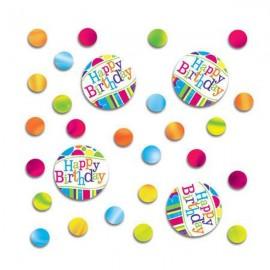 Bright and Bold Confetti, Happy Birthday