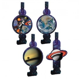 Space Blast Blowouts with Assorted Medallions