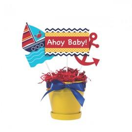 Ahoy Matey Centrepiece Sticks