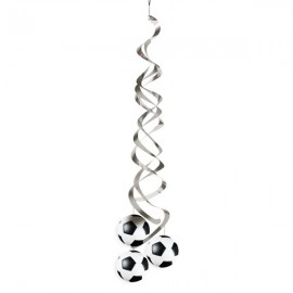Soccer Fanatic Deluxe Danglers Hanging Decorations