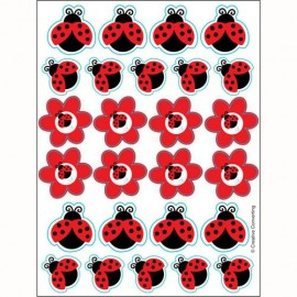 Ladybug Fancy Stickers, Value