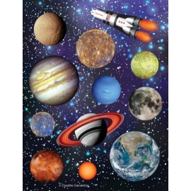 Space Blast Stickers Assorted Designs