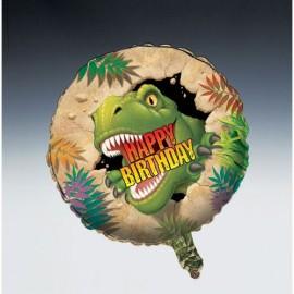 45cm Dino Blast Happy Birthday