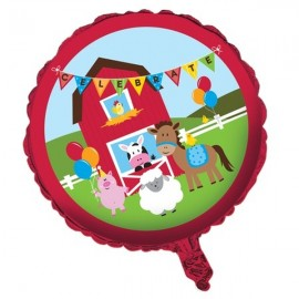 45cm Farmhouse Fun Foil Balloon