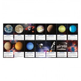 Space Blast Planet Fact Cards