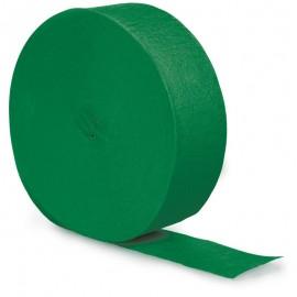 Emerald Green Crepe Streamer
