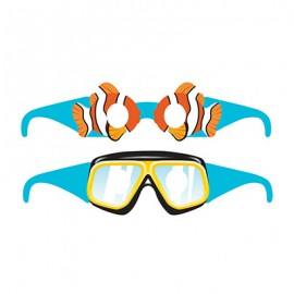 Ocean Party Glasses Assorted Designs