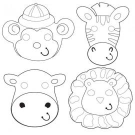 Safari Adventure Masks