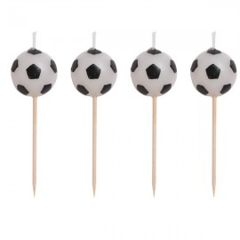 Soccer Fanatic Pick Soccer Ball Candles