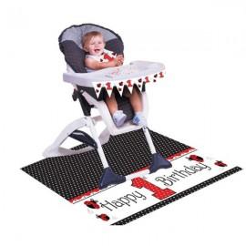 Ladybug Fancy High Chair Kit