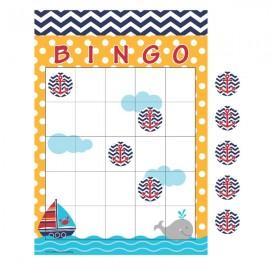 Ahoy Matey Bingo Game & Sticker Sheets