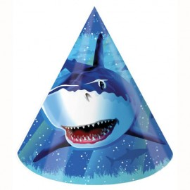 Shark Splash Party Hats Child Size
