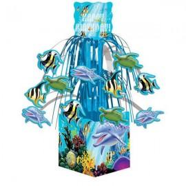 Ocean Party Centerpiece, Mini Cascade,w/Base
