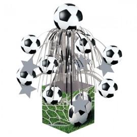 Soccer Fanatic Foil Cascade Centrepiece