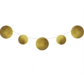 Sparkle & Shine Gold  Foil Embossed Banner 2.7m