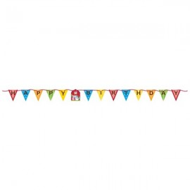 Farmhouse Fun Ribbon Flag Banner