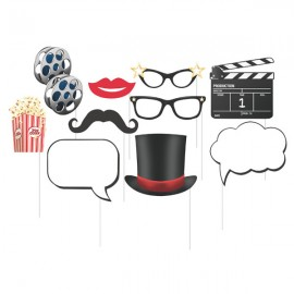 Hollywood Lights Photo Booth Props Assorted Sizes