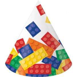 Block Party Hats Cone Shaped