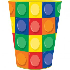 Block Party Plastic Souvenir Cup