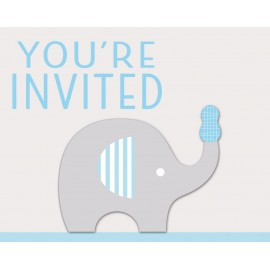 Little Peanut Boy Invitations You're Invited 3D