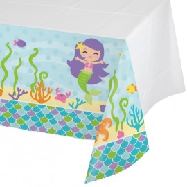 Mermaid Friends Tablecover Plastic