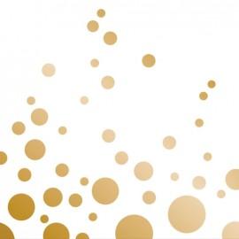 Sparkle & Shine Gold  Beverage Napkins