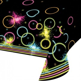 Glow Party Tablecover Plastic