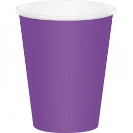 Amethyst Purple Cups Paper 266ml