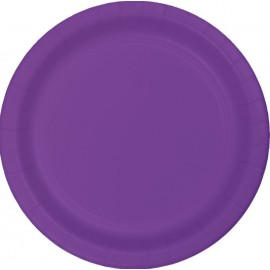 Amethyst Purple Dinner Plates Paper 23cm