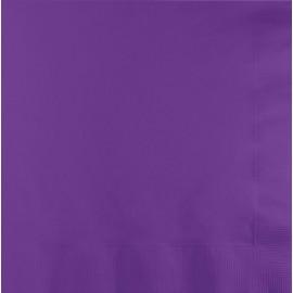 Amethyst Purple Beverage Napkins