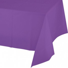 Amethyst Purple Tablecover Plastic