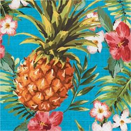 Aloha Luncheon Napkins Square Paper Luau