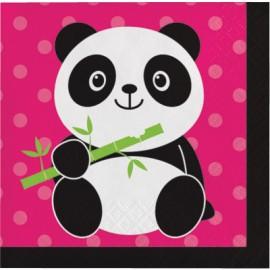 Panda - Monium Beverage Napkins