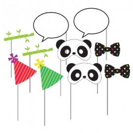Panda - Monium Photo Booth Props Assorted Sizes