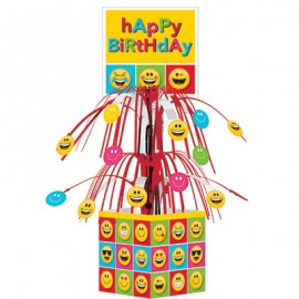 Emojions Mini Cascade Centrepiece Happy Birthday