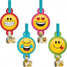 Emojions Blowouts & Medallions Assorted Designs