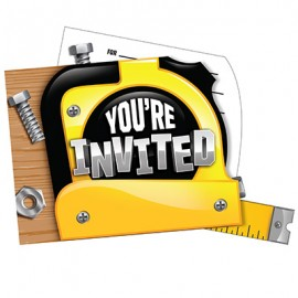 Handyman Tools Invitations You're Invited