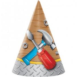 Handyman Tools Hats Cone Shaped