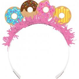 Donut Time Tiara's & Tissue Fringe