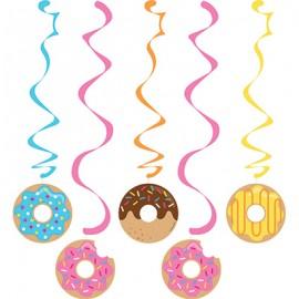 Donut Time Dizzy Danglers Hanging Swirls