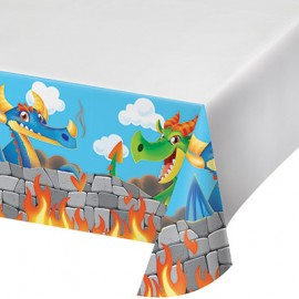 Dragons Tablecover Border Print