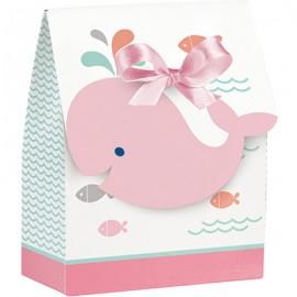Lil Spout Pink Favor Bags & Ribbon